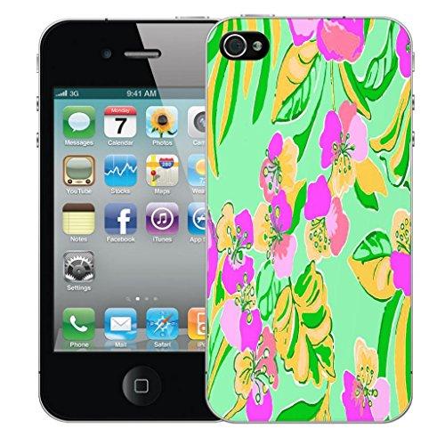 iphone 5 5s Dur Coque couverture Pare-chocs Case Cover - tropical flower conception par Mobile Case Mate