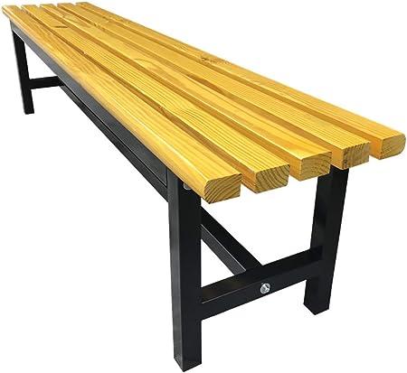 Sillas de comedor de jardín Banco de mesa de comedor de pino sólido de jardín - Cocina