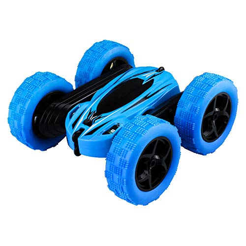 Miklan RC Cars Off-Road, 4WD Remote Control Car Rotate 360° Rotate Stunt Car, Indoor Outdoor Toy Cars for Boys Girls , Unstoppable Electric Race Truggy RTR High Speed ()