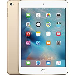 Apple iPad mini 4 64GB (Wi-Fi) 7.9-Inch iOS Tablet - Gold (Certified Refurbished)