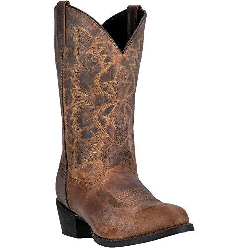 "Dan Post Laredo Men's 12"" Birchwood Leather Cowboy Boot T..."