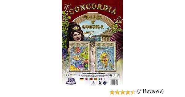 Rio Grande Games RIO541 Concordia Exp - Juego de Mesa (Contenido en alemán): Amazon.es: Juguetes y juegos