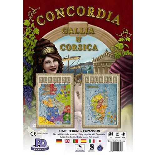 Rio Grande Games RIO541 Concordia Exp - Juego de Mesa (Contenido ...