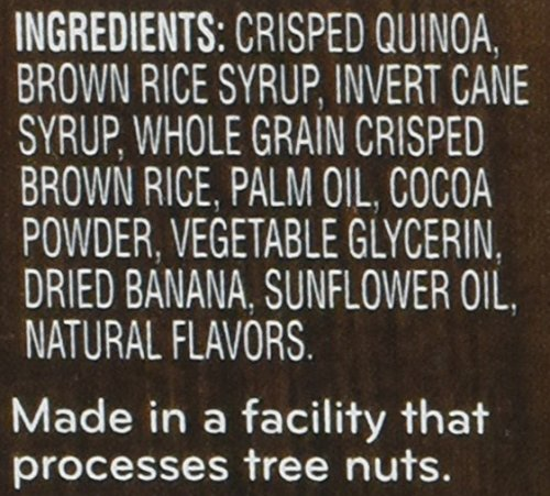 Beech-Nut Quinoa Crispies Banana & Cocoa Toddler Snack, 0.56 Ounce (Pack of 6) by Beech-Nut (Image #3)