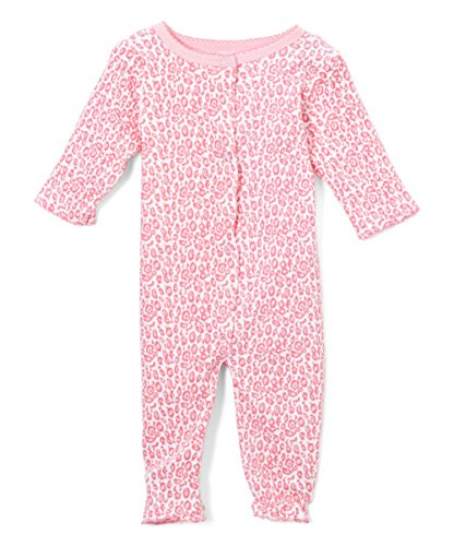 sweet-soft-baby-girls-coverall-converts-to-gown-newborn-3-6-months-hot-pink-leopard