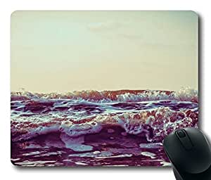 Waves 6 Mouse Pad Desktop Laptop Mousepads Comfortable Office Mouse Pad Mat Cute Gaming Mouse Pad by icecream design