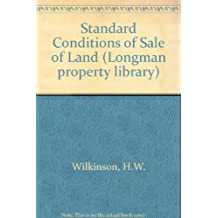 Standard Conditions of Sale of Land