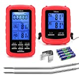 Best Dual Probe Thermometers - Veken Wireless Digital BBQ Meat Thermometer, Remote Cooking Review