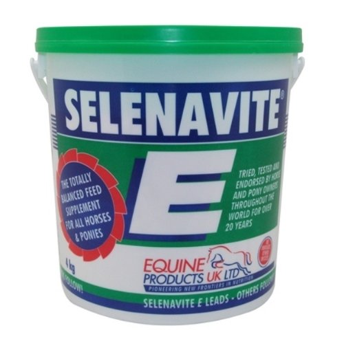 Equine Products Selenavite E Feed Supplement x Size  4 Kg