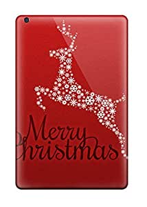 Slim Fit Protector Shock Absorbent Bumper 2011 Merry Christmas Case For Ipad Mini/mini 2