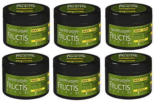 Garnier Fructis Style Shine Wax, Flexible #2, 2.5 Oz (Pack of 6)