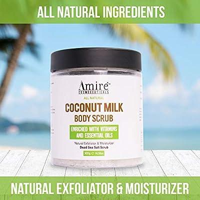 Amire Body Scrubs Variations - Honey Aloe | Tea Tree | Arabica Coffee | Coconut Milk