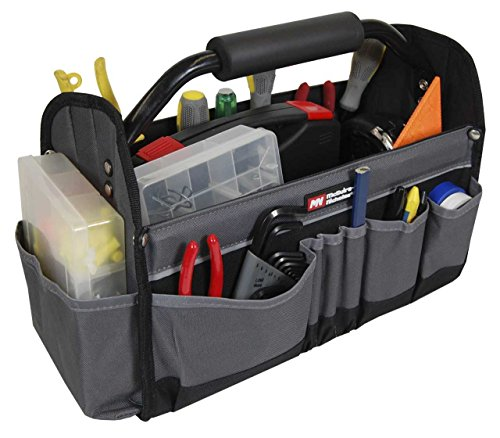 McGuire-Nicholas 22015 15-Inch Collapsible Tote (Open Tool Box)