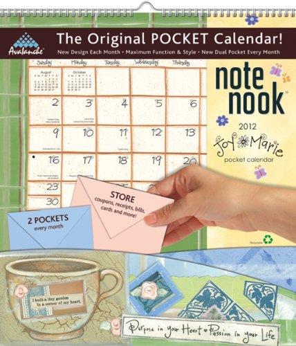 Joy 2012 Calendar - 2012 Joy Marie Note Nook calendar