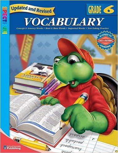 Amazon.com: Spectrum Vocabulary, Grade 6 (0087577957968): School ...