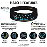 Halo II Headband Sweatband Pullover, Black