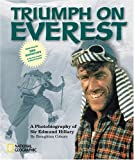 Front cover for the book Triumph on Everest: A Photobiography of Sir Edmund Hillary by Broughton Coburn