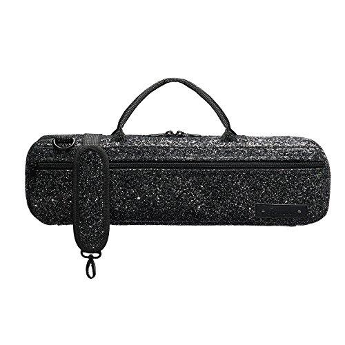 Beaumont Black Sparkle Flute Case (BFBB-BS)