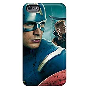 For Iphone 6 Plus Phone Case Cover skin For Iphone 6 Plus Phone Case Cover Hard Cases With Fashion Design High For Iphone 6 Plus Phone Case Cover - captain america in avengers movie