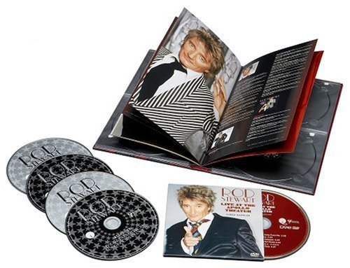 The Great American Songbook Collection (4CD/DVD) by Stewart, Rod Box set edition (2005) Audio CD