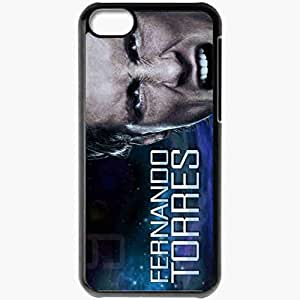 Personalized iPhone 5C Cell phone Case/Cover Skin 2013 spectacular fernando torres Black by icecream design