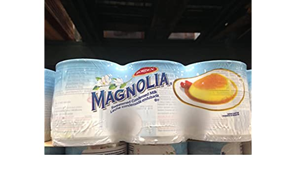 Amazon.com : Magnolia sweetened condensed milk 5/14 oz. (pack of 6) : Grocery & Gourmet Food