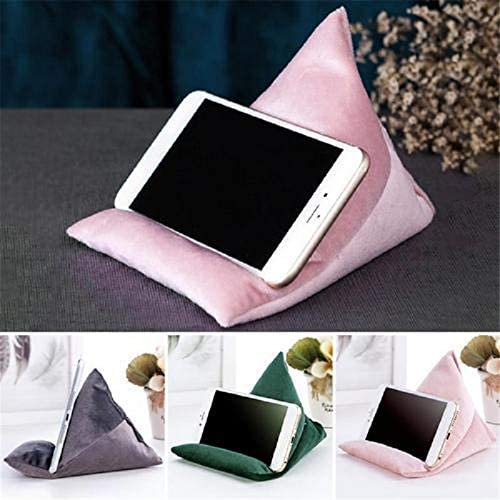 Sumerlly Stand Pillow Mobile Phone Holder Lazy People Soft Portable Cushion Bean Bag for Laptop