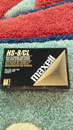 12PCS MAXELL 8MM CLEANING CARTRIDGE FOR DATA STORAGE DRIVES HS-8/CL by LDB MART