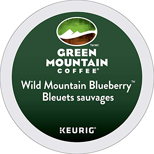 Green Mountain Wild Mountain Blueberry, 24-Count,0.33 Oz EA Net Wt. 7.9 Oz. (The Best Baked Beans On The Planet)