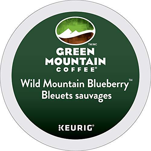 Green Mountain Wild Mountain Blueberry, 24-Count,0.33 Oz EA Net Wt. 7.9 Oz.