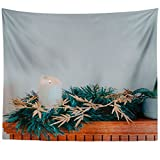 Westlake Art - Wall Hanging Tapestry - Fireplace Mantle - Photography Home Decor Living Room - 51x60in
