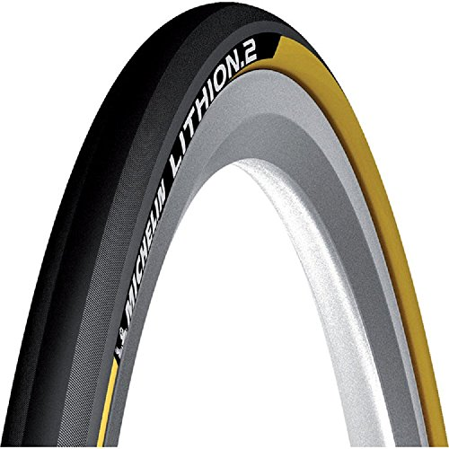 MICHELIN Lithion 2 Folding Road Tyre- OE Packing (Yellow, 700x23c)