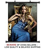 Gemma Ward Sexy Model Actress Fabric Wall Scroll Poster (16x20) Inches