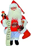 15'' NCAA Oklahoma State Cowboys Santa Claus Christmas Figure with Nutcracker