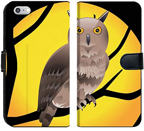 Liili iPhone 6 and iPhone 6S Flip Micro Fabric Wallet Case Abstract Halloween Wallpaper Vector Illustration Photo 9085552]()