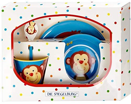Spiegelburg Affe 2er Set 15185 15861 Snackbox Melamin-Geschirrset