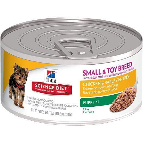 Hill's Science Diet Puppy Small & Toy Chicken & Barley Entre