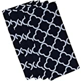 E By Design Marrakech Express Geometric Print Napkin, 19'' by 19'', Bewitching