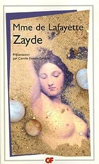 Zayde : Histoire espagnole par Madame de La Fayette