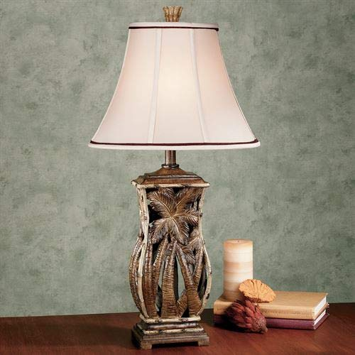 Cocoa Beach Table Lamp Bamboo One Size Bamboo Resin Table Lamp