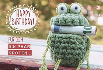 Geburtstagskarte Geldgeschenk Geldkarte Lustig Fur Dich Ein Paar