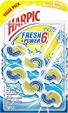 Harpic Fresh Power 6 Toilet Cleaner - Summer Breeze, Twin Pack of 39g