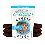 Healthy Keto Snacks Cookies by Bett3r Keto   Low Carb High Fat   Ketogenic, Primal, Paleo, Atkins   Almond Flour, Sugar Free, Dairy and Gluten Free, All Natural Ingredients  6 Cookies … (Double Chocolate Chip)