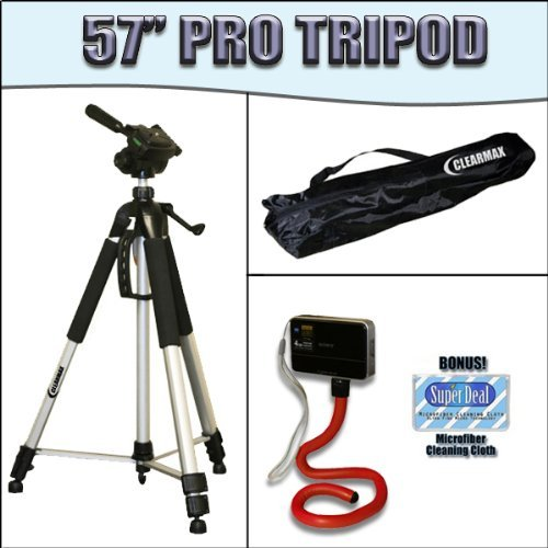 57-inch Tripod for Canon EOS Digital Rebel XT XTi 350d 400d   B0017915OI