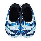 L-RUN Children Water Aqua Shoes for Beach Swim Surf