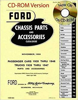 1928 - 1948 ford factory car and truck chassis master parts accessories  catalog cd-rom: ford: amazon com: books