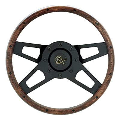 Grant 404 Challenger Wood Steering Wheel: Automotive