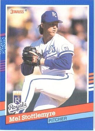 Amazoncom 1991 Donruss Baseball Card 257 Mel Stottlemyre