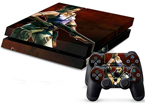 MODFREAKZ™ Console and Controller Vinyl Skin Set - Res Evil Apocalypse for Playstation 4
