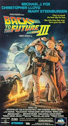 Amazon com: Back to the Future Part III [VHS]: Michael J  Fox